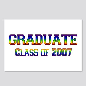 Rainbow Graduate 2007 Postcards (Package of 8)