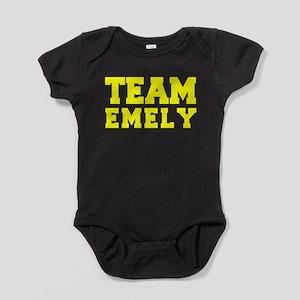 TEAM EMELY Baby Bodysuit