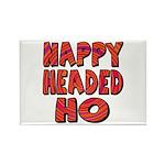 Nappy Headed Ho Hypnotic Design Rectangle Magnet