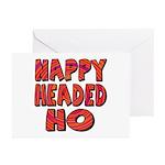 Nappy Headed Ho Hypnotic Design Greeting Cards (Pa