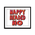 Nappy Headed Ho Hypnotic Design Framed Panel Print
