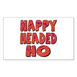 Nappy Headed Ho Hypnotic Design Sticker (Rectangul