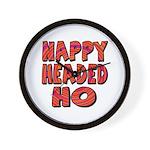 Nappy Headed Ho Hypnotic Design Wall Clock