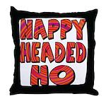 Nappy Headed Ho Hypnotic Design Throw Pillow