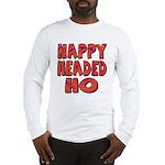 Nappy Headed Ho Hypnotic Design Long Sleeve T-Shir