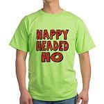 Nappy Headed Ho Hypnotic Design Green T-Shirt