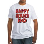 Nappy Headed Ho Hypnotic Design Fitted T-Shirt
