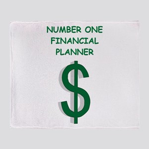 financial planning Throw Blanket