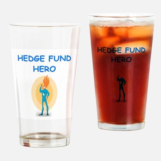 hedge fund Drinking Glass