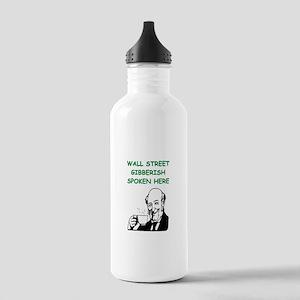 wall street Water Bottle