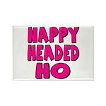 Nappy Headed Ho Pink Design Rectangle Magnet (100