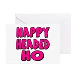 Nappy Headed Ho Pink Design Greeting Cards (Packag