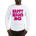 Nappy Headed Ho Pink Design Long Sleeve T-Shirt