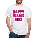 Nappy Headed Ho Pink Design White T-Shirt