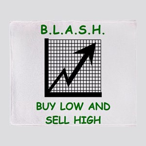 blash Throw Blanket
