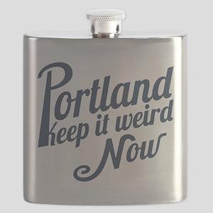Portland -Keep It Weird Now Flask