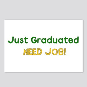 Graduated Need Job Postcards (Package of 8)