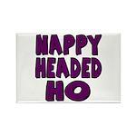Nappy Headed Ho Purple Design Rectangle Magnet