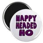 Nappy Headed Ho Purple Design Magnet