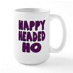 Nappy Headed Ho Purple Design Large Mug