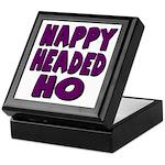 Nappy Headed Ho Purple Design Keepsake Box