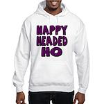 Nappy Headed Ho Purple Design Hooded Sweatshirt