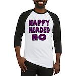 Nappy Headed Ho Purple Design Baseball Jersey