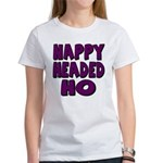 Nappy Headed Ho Purple Design Women's T-Shirt