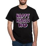 Nappy Headed Ho Purple Design Dark T-Shirt