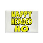 Nappy Headed Ho Yellow Design Rectangle Magnet (10