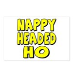 Nappy Headed Ho Yellow Design Postcards (Package o