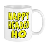 Nappy Headed Ho Yellow Design Mug
