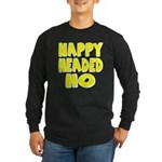 Nappy Headed Ho Yellow Design Long Sleeve Dark T-S