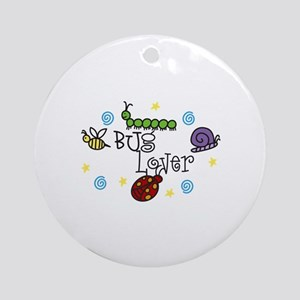 BUg Lover Ornament (Round)
