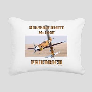 Me109F Rectangular Canvas Pillow