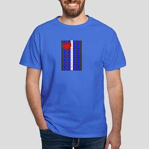 LEATHER PRIDE VERTICAL/BRICK Dark T-Shirt