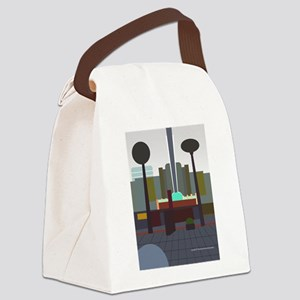 hollywood n vine theatre Canvas Lunch Bag