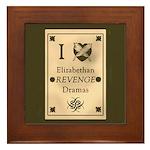 Revenge Drama Framed Tile