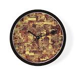 Evening Wall Clock