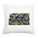 Twilight time Square Canvas Pillow