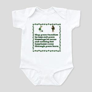 Irish Celtic blessings, sayin Infant Bodysuit