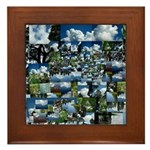 Summer day Framed Tile