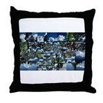 Summer day Throw Pillow