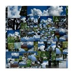 Summer day Tile Coaster