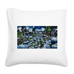 Summer day Square Canvas Pillow