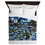 Summer day Queen Duvet