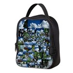 Summer day Neoprene Lunch Bag