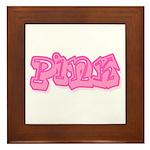 Pink (7) Framed Tile