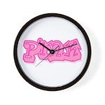 Pink (7) Wall Clock