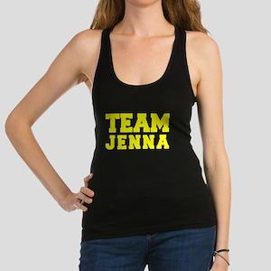 TEAM JENNA Racerback Tank Top